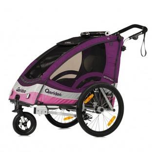 Multifunkční dětský vozík Qeridoo Sportrex 1 fialová