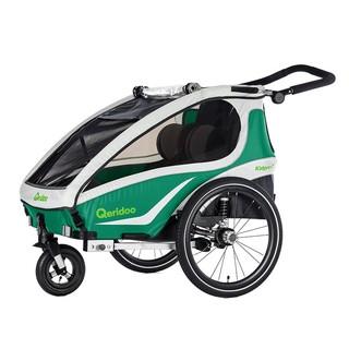 Multifunkční dětský vozík Qeridoo KidGoo 1 2018 zelená