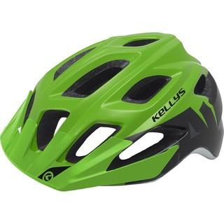 Cyklo přilba Kellys Rave zelená - M/L (60-64)