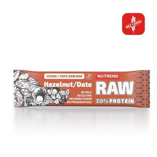 Proteinová tyčinka Nutrend Raw Protein Bar 50g kakao + třešeň