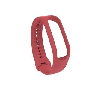 Řemínek pro TomTom Touch Fitness Tracker korálově červená korálově červená - L (140-206 mm)