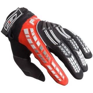 Dětské motokrosové rukavice Pilot černo-červená - 6