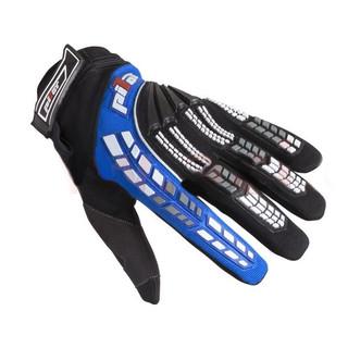 Dětské motokrosové rukavice Pilot černo-modrá - 6