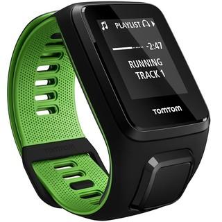 Sporttester TomTom Runner 3 Cardio + Music černo-zelená - S (121-175 mm)