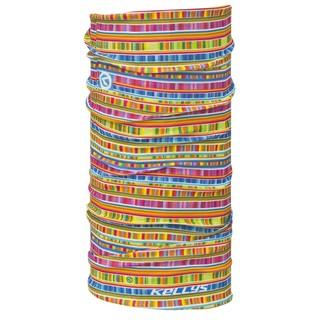 Multifunkční šátek Kellys Scarf Illusion yellow (barevná grafika)
