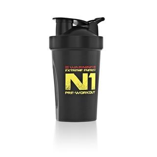 Shaker Nutrend 400 ml černá