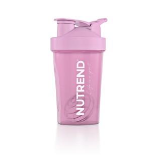 Shaker Nutrend 400 ml růžová