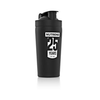 Nerezový shaker Nutrend 780 ml černá