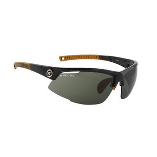 Cyklistické brýle KELLYS Force Shiny Black, černo-oranžová s tmavými skly