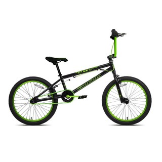 "BMX kolo Capriolo Totem 20"" - model 2018 Black Green"