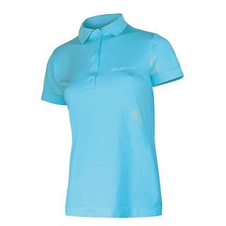 Dámské thermo tričko Brubeck PRESTIGE s límečkem modrá - S