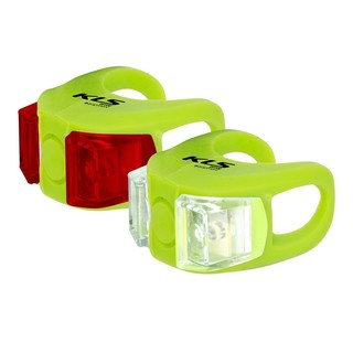 Sada světel Kellys Twins lime zelená