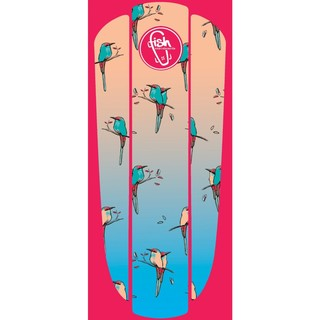 "Nálepka na penny board Fish Classic 22"" Red Birds"