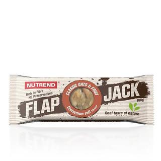Tyčinka Nutrend FlapJack 100 g skořicový šnek