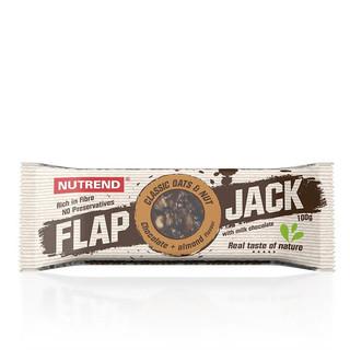 Tyčinka Nutrend FlapJack 100 g čokoláda+mandle s mléčnou čokoládou