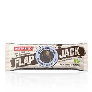 Tyčinka Nutrend FlapJack 100 g čokoláda+kokos s hořkou čokoládou