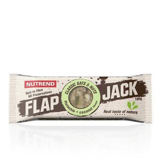 Tyčinka Nutrend FlapJack 100 g pistácie+kokos