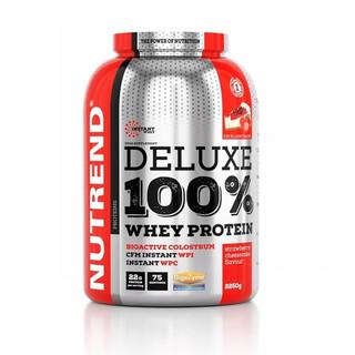 Práškový koncentrát Nutrend Deluxe 100% WHEY 2250g pudinková vanilka