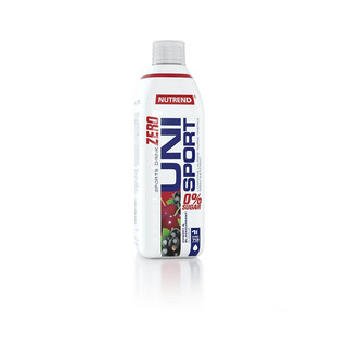 Hypotonický nápoj Nutrend Unisport Zero 1000 ml višeň-černý rybíz
