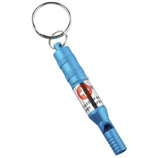 Pohotovostní píšťalka s kapslí Munkees Emergency Whistle modrá