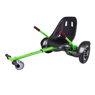 "Elektroboard Windrunner Fun A1 Art - 10"" carbon + sedátko Funcart zelené"