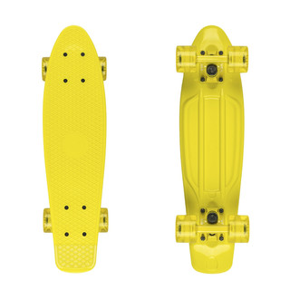 "Penny board Fish Classic 22"" Yellow-Yellow-Transparent Yellow"