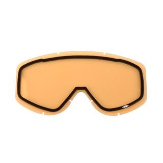 Náhradní sklo k brýlím WORKER Simon žlutá