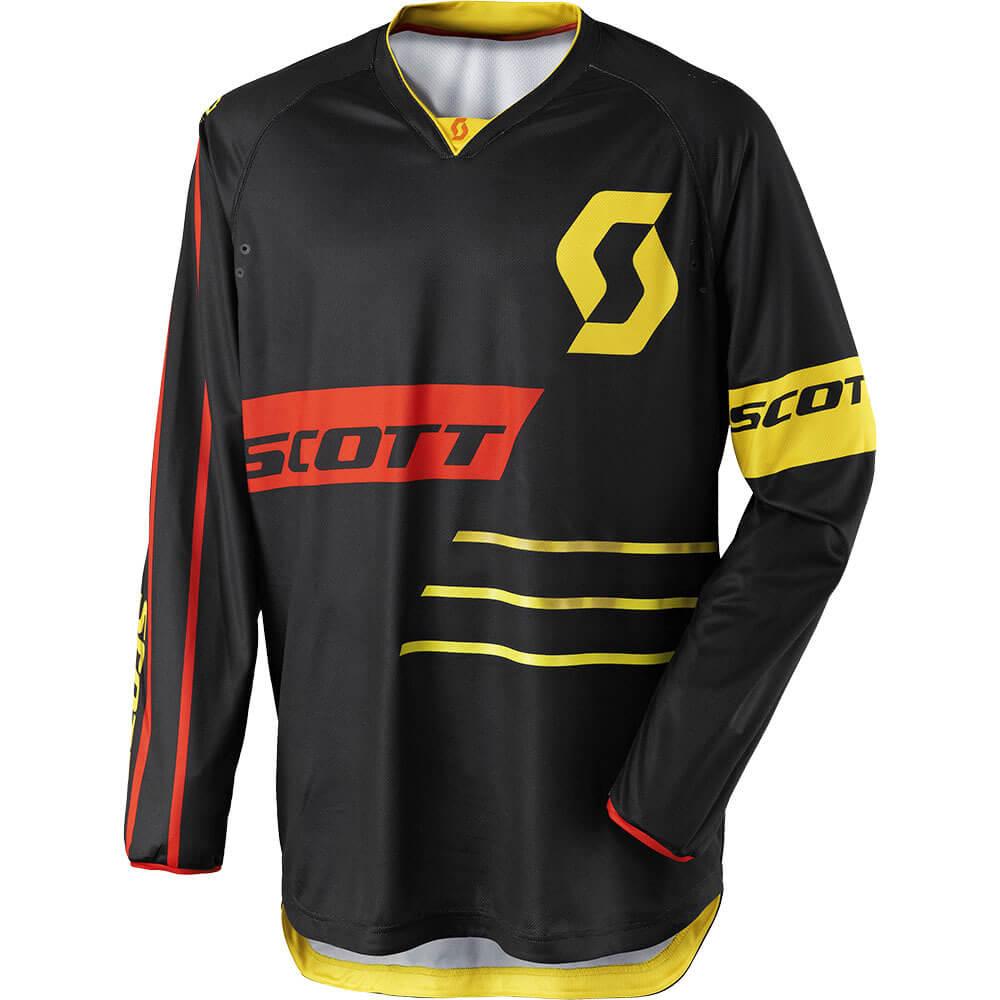 Motokrosový dres SCOTT 350 Dirt MXVII Black-Yellow - L (50-52)