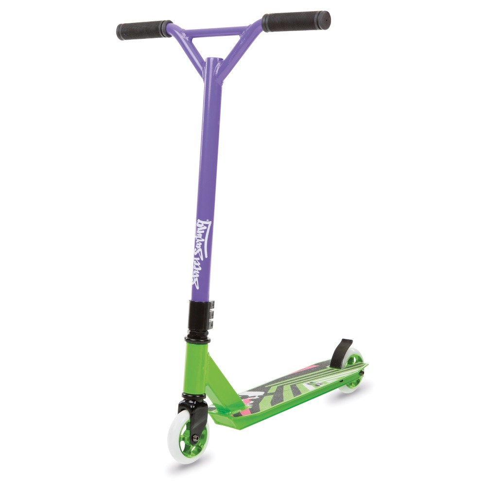 Freestyle koloběžka Street Surfing TORPEDO Green Purple