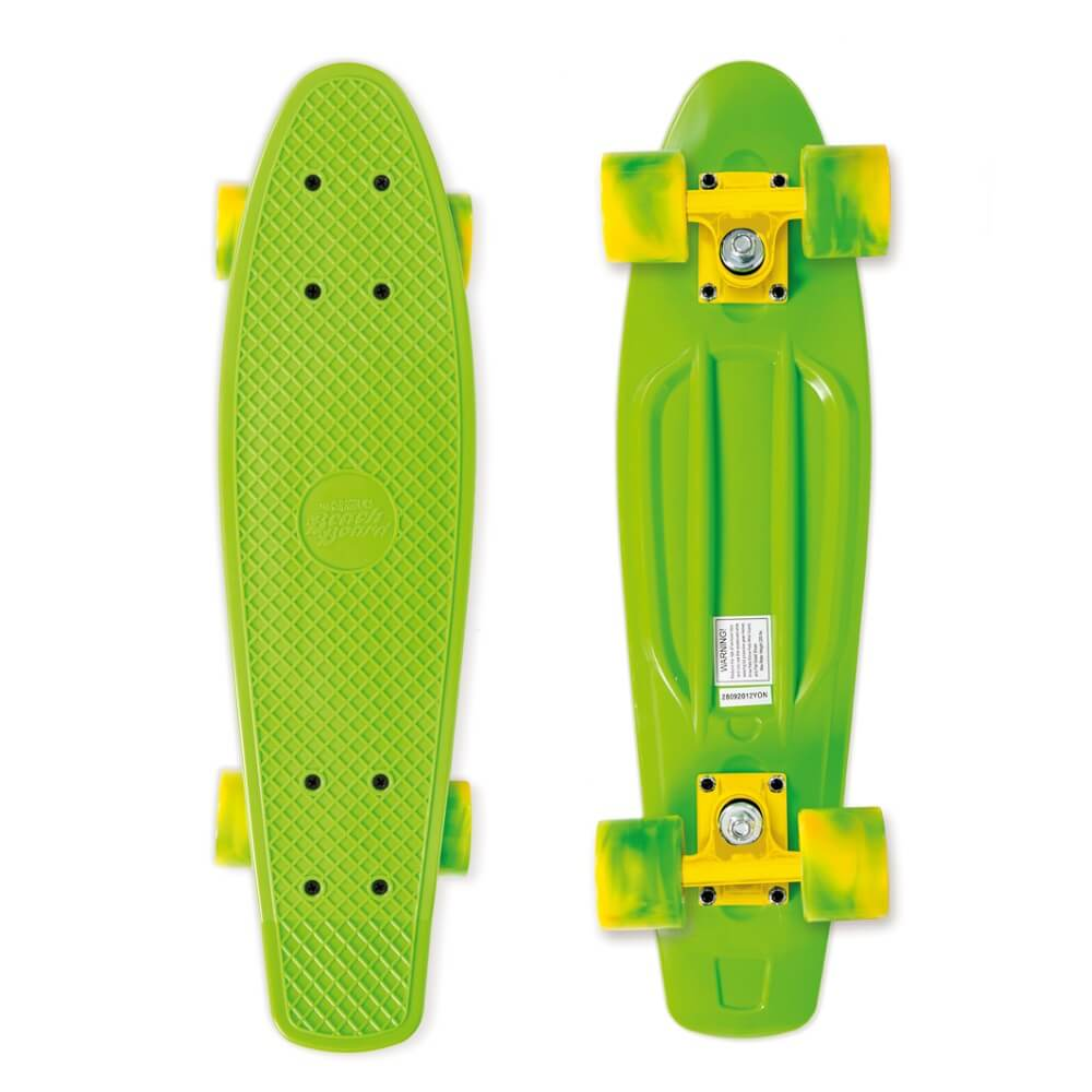 Penny board Street Surfing Beach Board California Dream, zelená