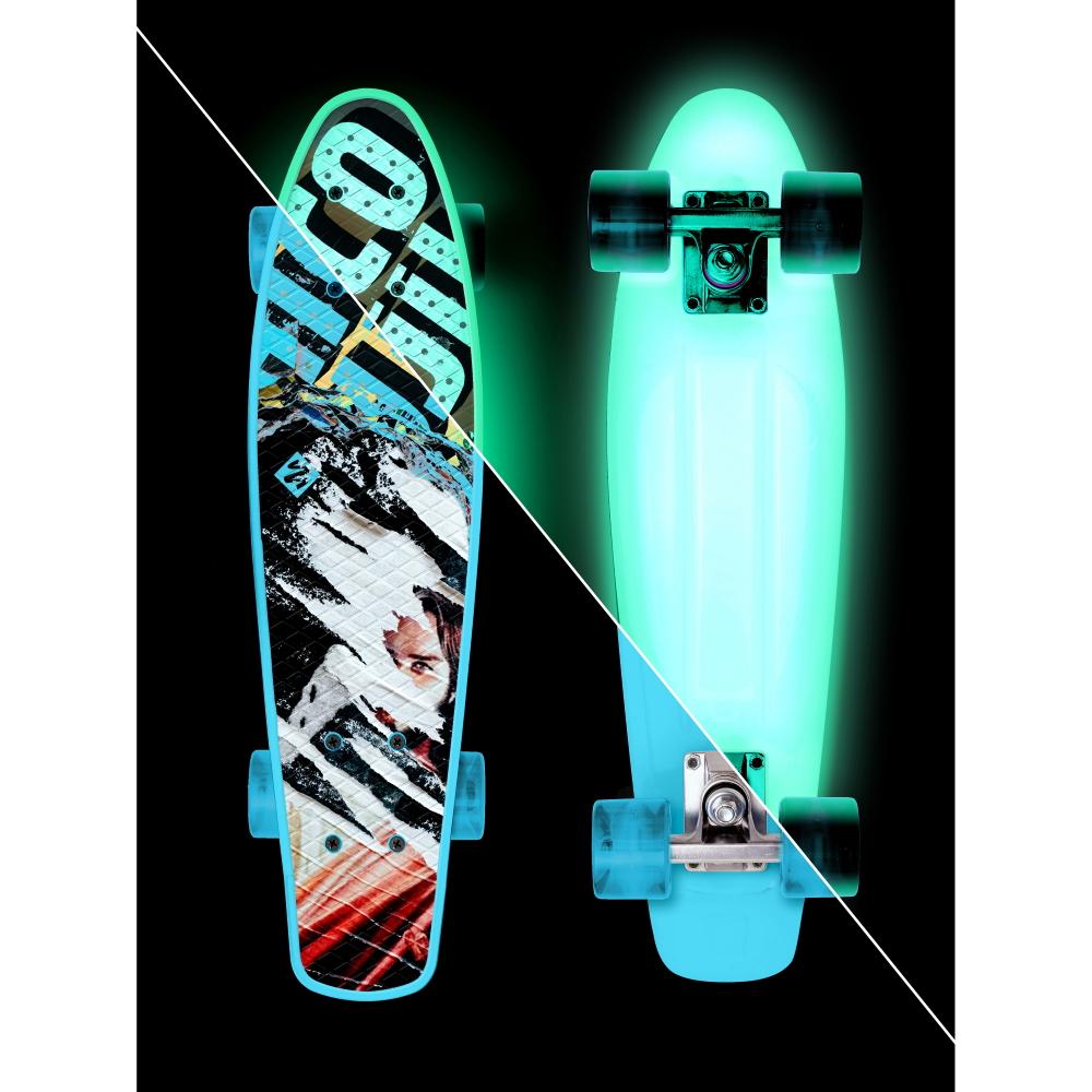 """Svítící penny board Street Surfing Beach Board Glow Rough Poster 22,5"""""""
