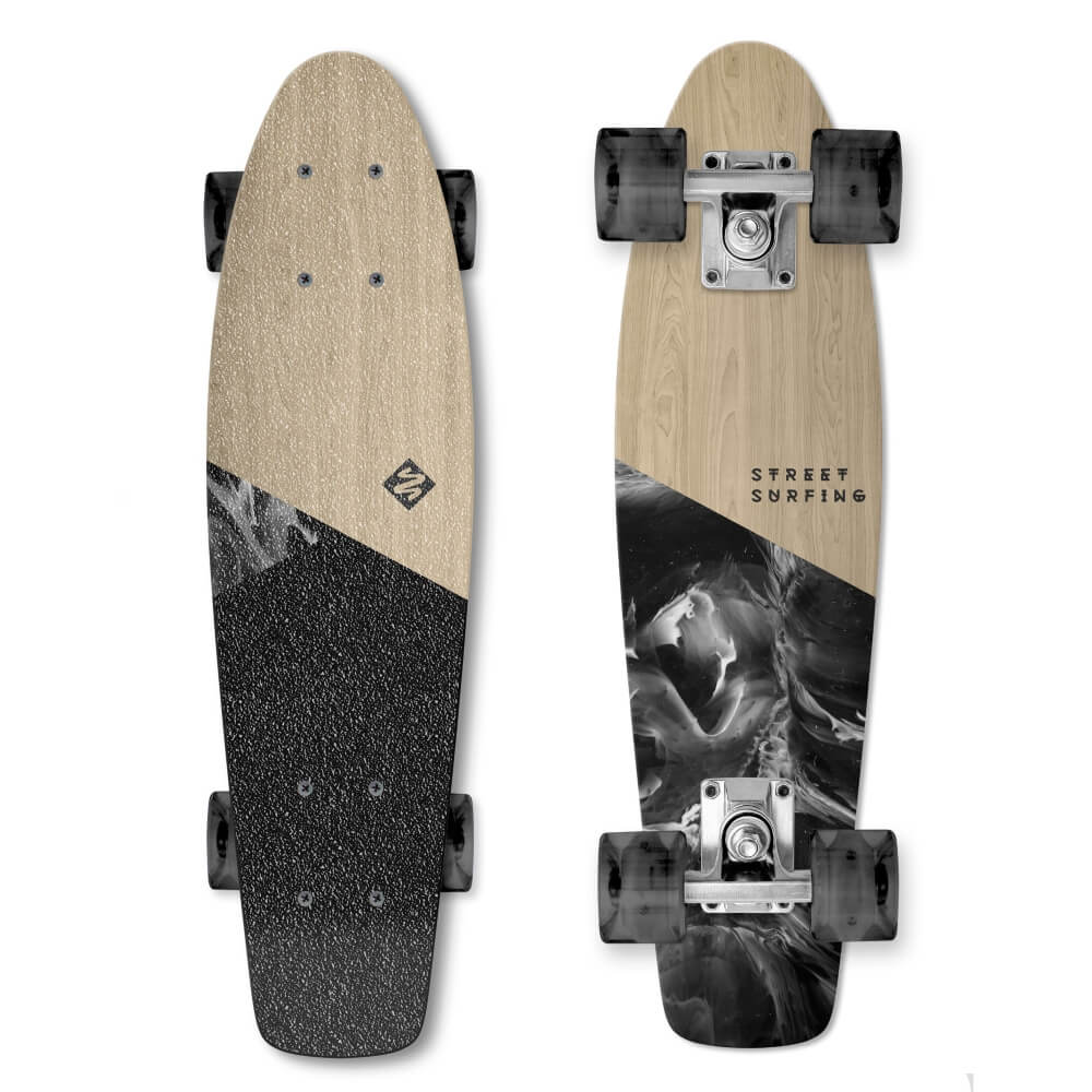 Street Surfing Beach Board Wood Dimension