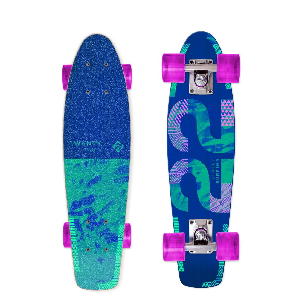 """Penny board Street Surfing Beach Board Wood Twenty Two 22,5"""""""
