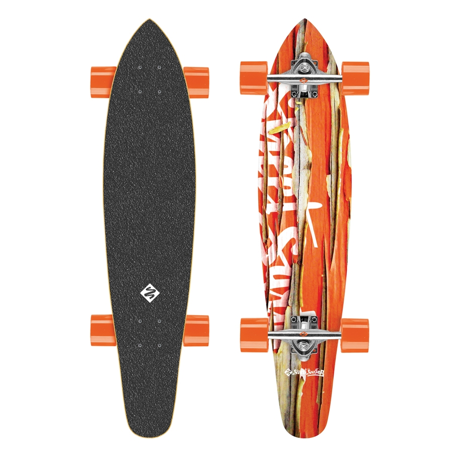 Street Surfing Kicktail  Damaged Orange 36