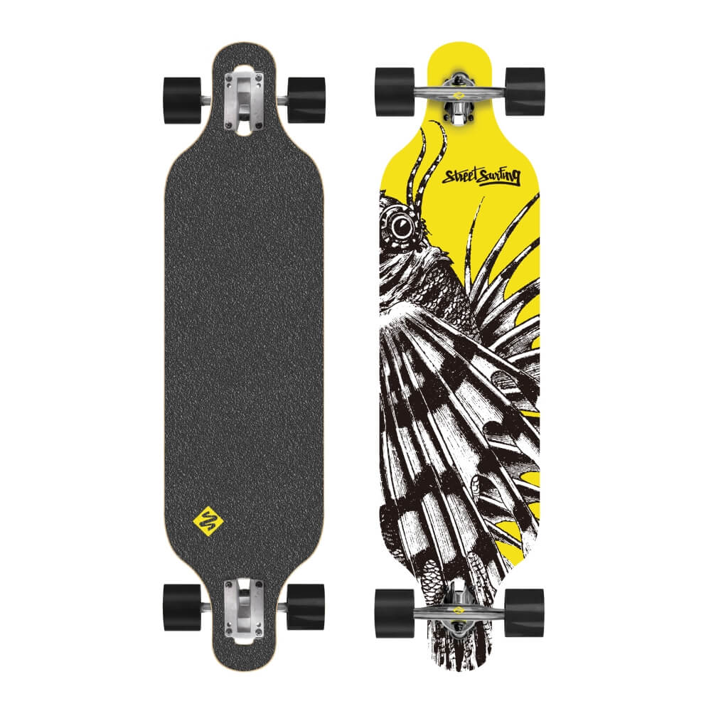 Longboard Street Surfing Freeride - Dragon 39""
