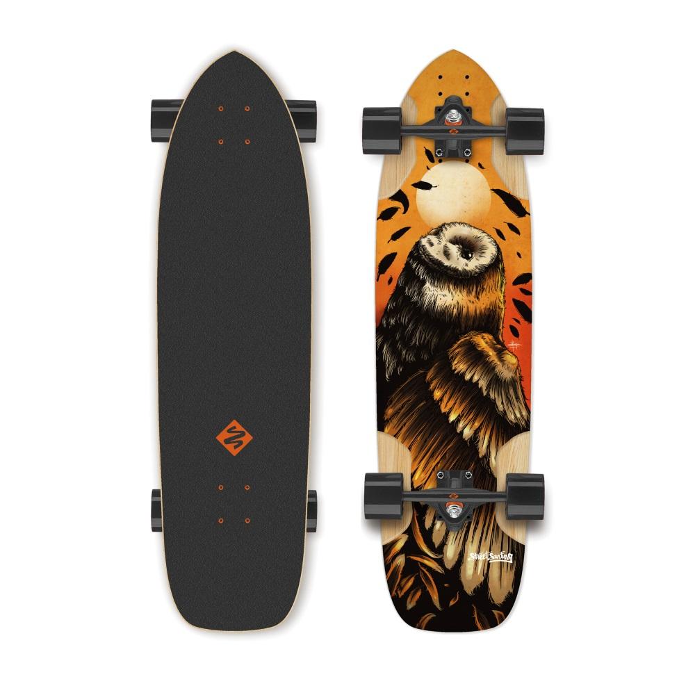 """Longboard Street Surfing Freeride Owl 36"""""""