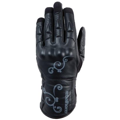 Dámské kožené rukavice Rebelhorn Opium černá - L