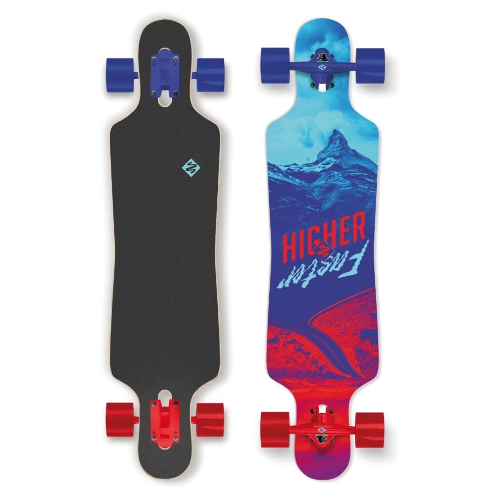 "Longboard Street Surfing Freeride Curve - Higher Faster 39"""