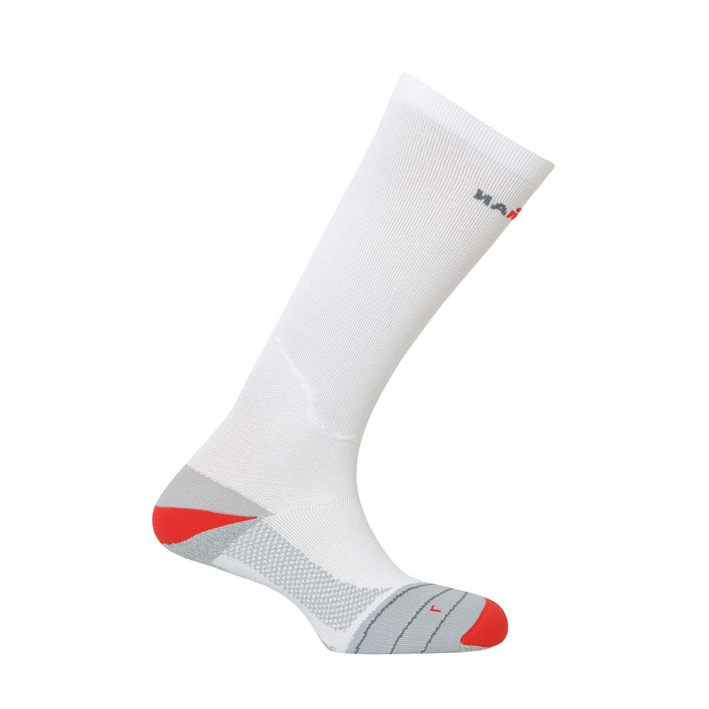 Kompresní ponožky IRONMAN Compression bílá - 35-38