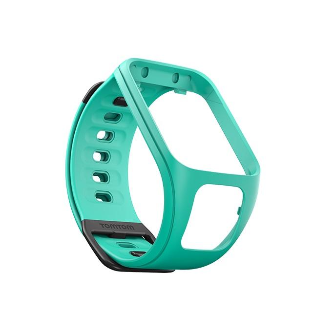 Řemínek ke GPS hodinkám TomTom transparentní zelená