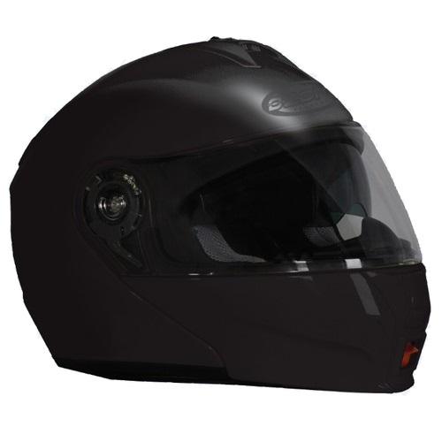 Přilba na motorku Ozone FP-01 černá - XS (53-54)