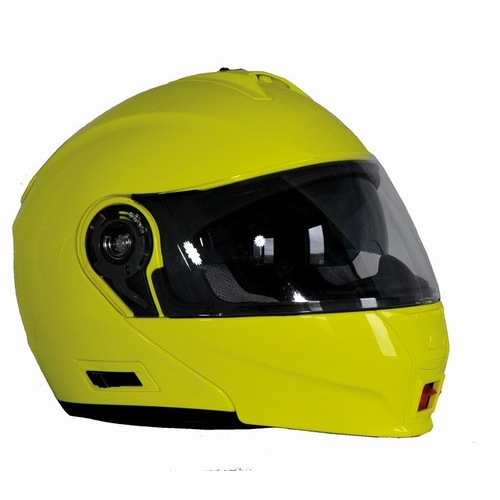 Přilba na motorku Ozone FP-01 fluo yellow - XS (53-54)