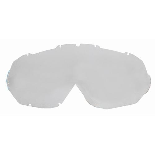 Náhradní sklo k moto brýlím Ozone Mud s piny Čirá