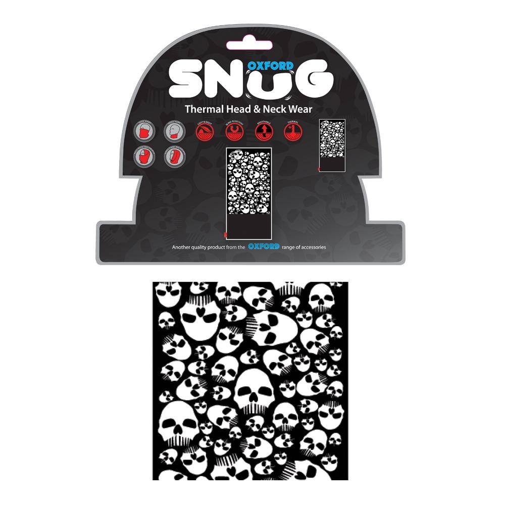 Univerzální multifunkční nákrčník Oxford Snug Skulls
