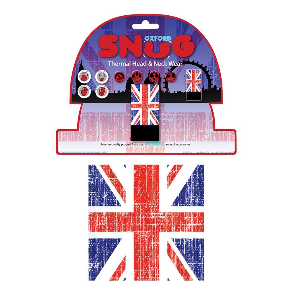 Univerzální multifunkční nákrčník Oxford Snug Union Jack