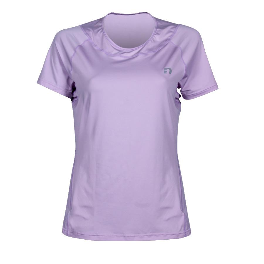 Dámské triko Newline Imotion Tee krátký rukáv fialová - S