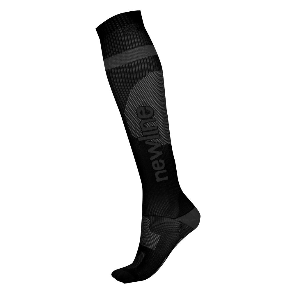 Kompresní běžecké podkolenky Newline Compression Sock černá - M (35-38)
