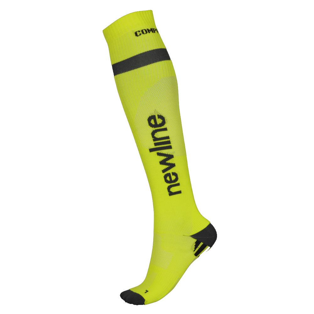 Kompresní běžecké podkolenky Newline Compression Sock Neon - M (35-38)