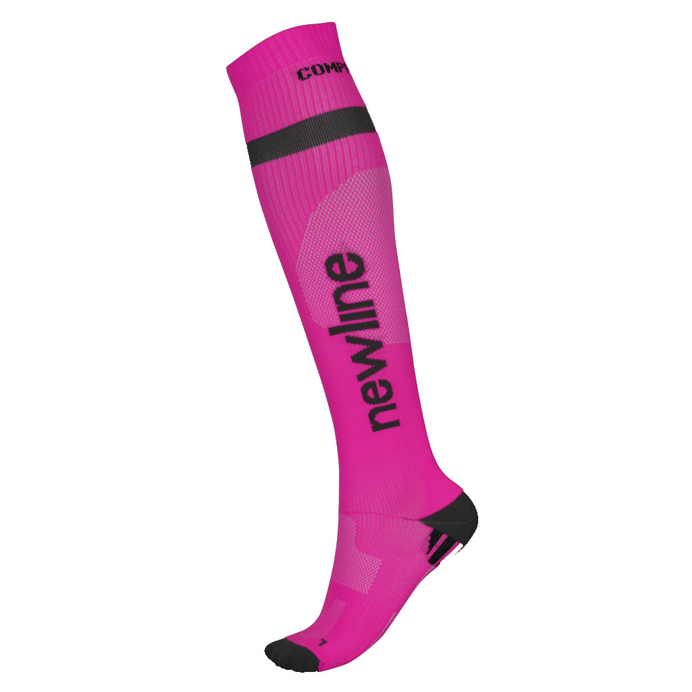 Newline Compression Sock růžová  XL 4346