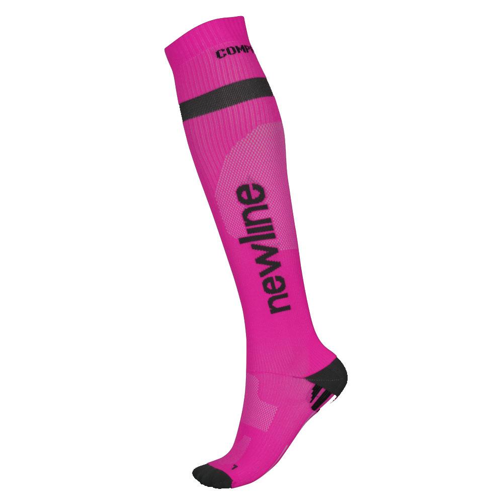 Kompresní běžecké podkolenky Newline Compression Sock růžová - XXL (47-50)